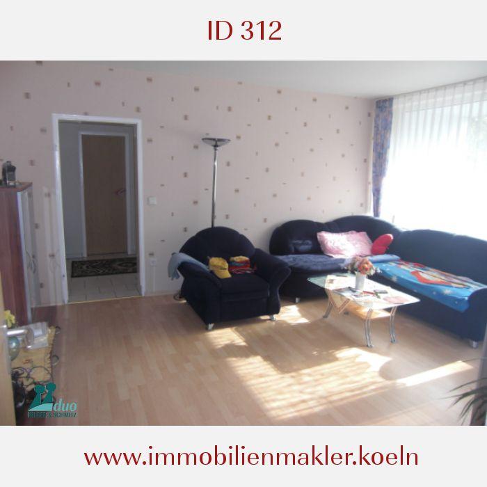 vermietete wohnung in 51109 k ln neubr ck 2 zimmer 59 m. Black Bedroom Furniture Sets. Home Design Ideas